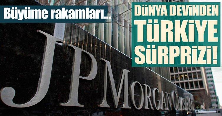 JPMorgan, Türkiye'nin büyüme tahminini yükseltti