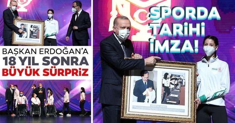 SON DAKİKA! Sporda tarihi protokol! Başkan Erdoğan çocukluğundan bir anı paylaştı: Gençler bunu yaşamasın...