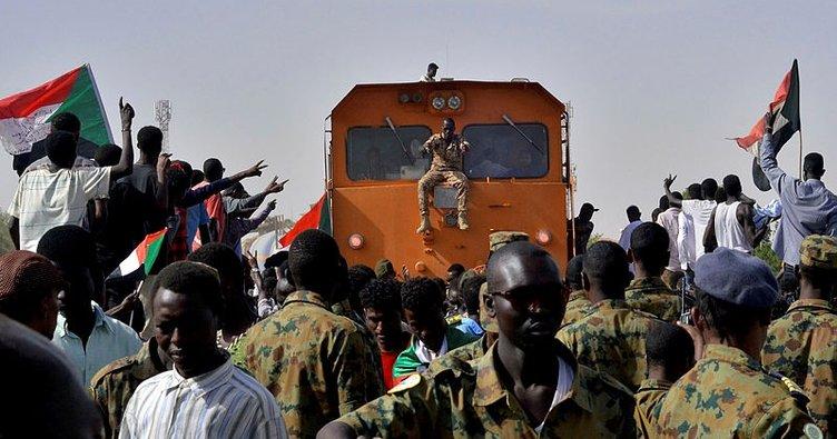Sudan'da göstericilere müdahale!