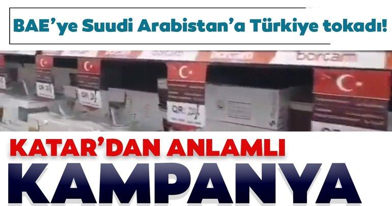 Son dakika: BAE'ye Suudi Arabistan'a Türkiye tokadı! Katar'dan anlamlı kampanya