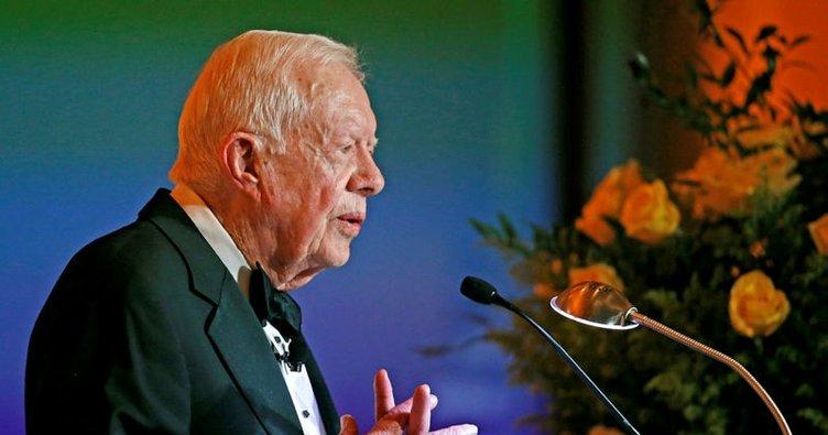 Eski ABD Başkanı Carter Kanada'da rahatsızlandı