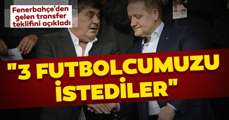 Göksel Gümüşdağ Fenerbahçe'den gelen transfer teklifini açıkladı