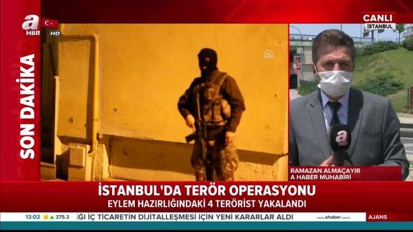 İstanbul'da eylem hazırlığındaki 4 terörist yakalandı | Video