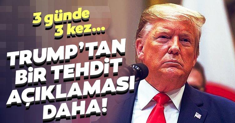 Trump'tan Türkiye'ye küstah tehdit