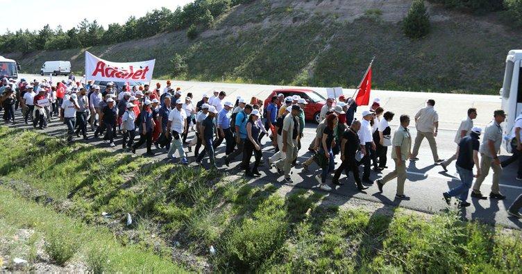 CHP'nin İstanbul yürüyüşünde kalp krizi geçirdi