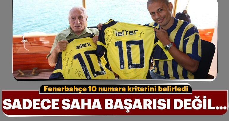 İşte Fenerbahçe'nin 10 numara planı