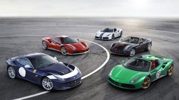 Ferrari yeni canavarlarını tanıttı