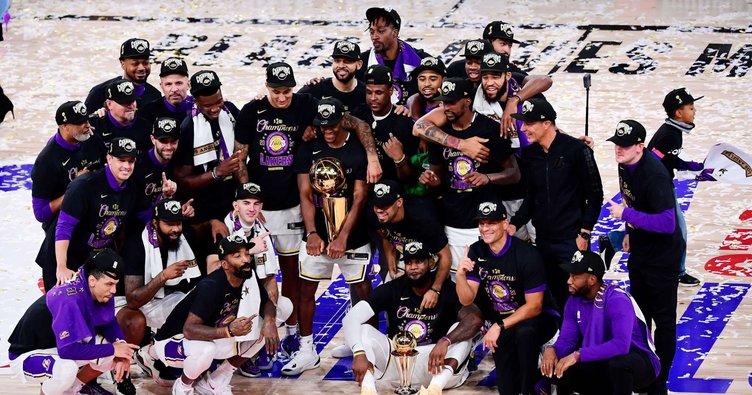 NBA'de şampiyon Los Angeles Lakers MVP LeBron James