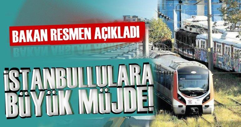 Son dakika: Bakan Arslan Gebze-Halkalı hattı için tarih verdi