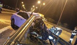 İstanbul'da feci kaza: 1 ölü!