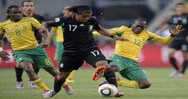 Güney Afrika:1 - Meksika:1