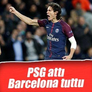 Şampiyonlar Ligi raporu: PSG attı, Barcelona tuttu