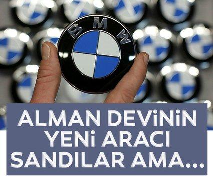 BMW'nin sır gibi sakladığı yeni aracı sandılar! İşin gerçeği ise farklı çıktı!