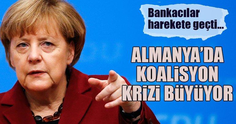 Almanya'da koalisyon krizi büyüyor!