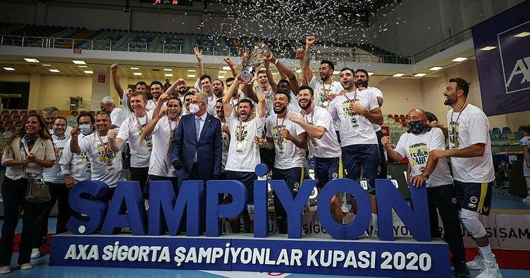 Arkas'ı yenen Fenerbahçe HDI Sigorta şampiyon oldu