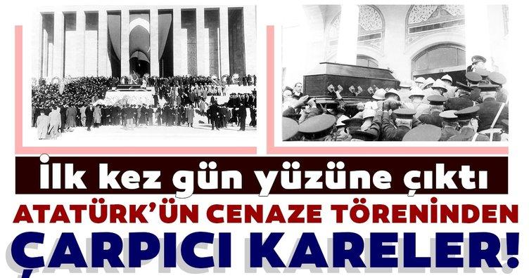 Ankara Üniversitesi  Atatürk'ün cenazesine ait 36 fotoğrafı ilk kez gün yüzüne çıkardı!