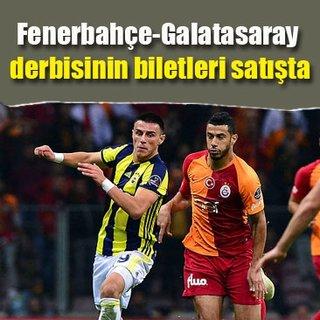 Fenerbahçe-Galatasaray maçının biletleri satışta