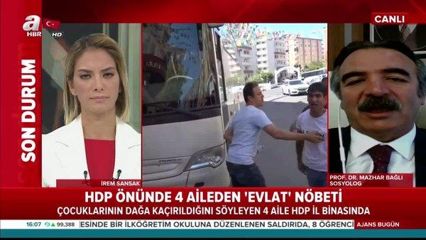 HDP önünde 4 aileden 'Evladımızı verin' nöbeti!