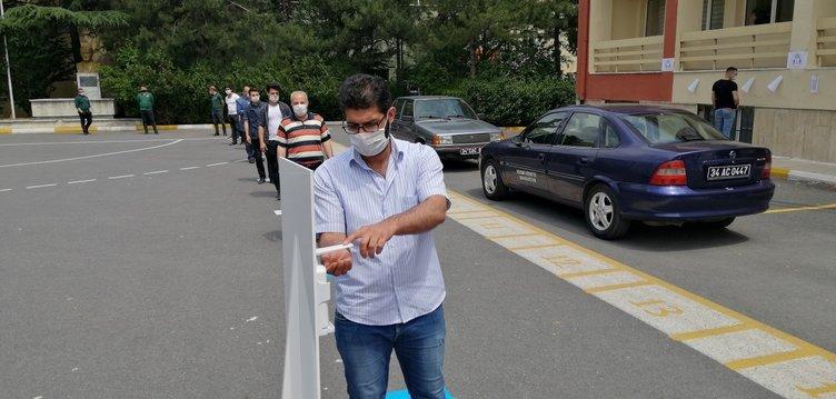 Koronavirüs tedbirleri kapsamında sınavlar ertelenmişti! İlk sınav böyle yapıldı