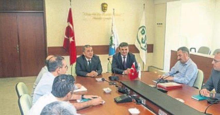 DSİ İzmir'de bayrak değişimi