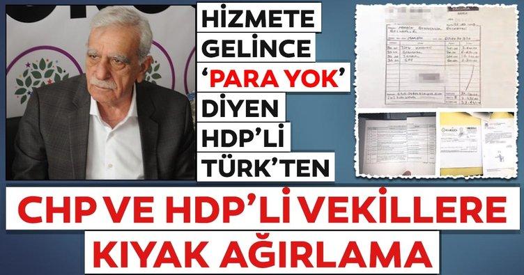 CHP ve HDP'li vekillere kıyak ağırlama