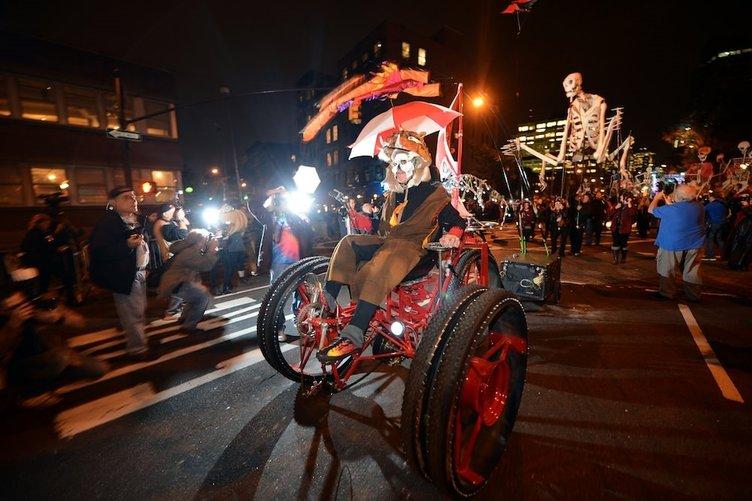 Cadılar Bayramı New York'ta kutlanır