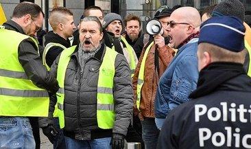 Belçika'da 100 gözaltı daha