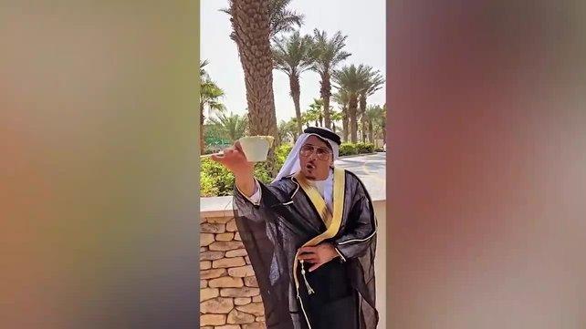 Nusret'in Dubai'deki 500 TL'lik altın tozlu kahve keyfi sosyal medayada olay oldu   Video