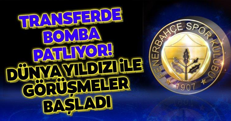 Asıl bomba şimdi patlıyor! Fenerbahçe dünya yıldızı ile görüşmelere başladı