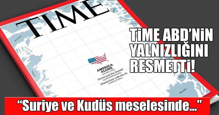 TIME dergisi ABD'nin geldiği son noktayı kapak yaptı