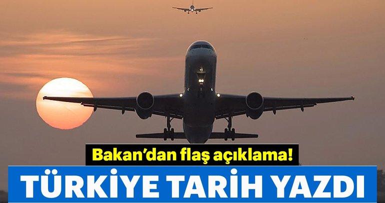 Türkiye sivil havacılıkta tarih yazdı!