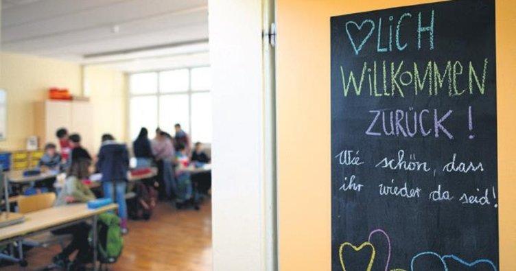 Saksonya'da okullar açıldı