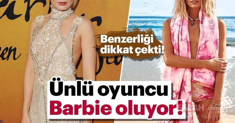 Ünlü oyuncu Barbie oluyor!