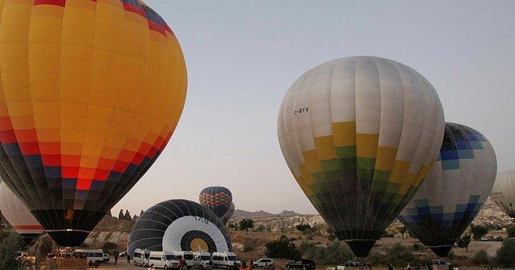 Kapadokya'da ilk yerli ve milli balonlar uçuşlara başladı