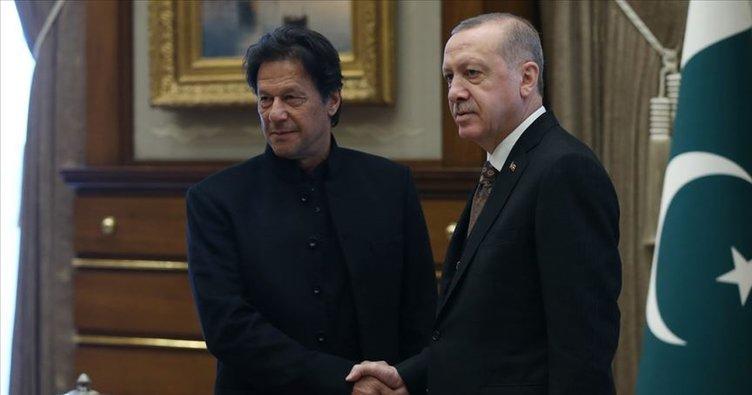 Cumhurbaşkanı Erdoğan, İmran Han ile telefonda görüştü