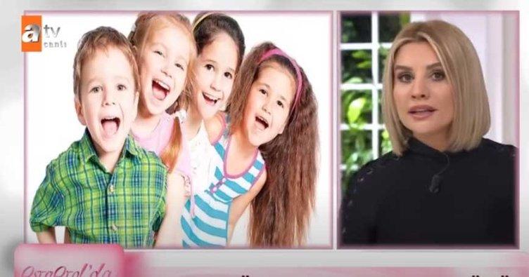 Esra Erol yayında çocuk hakları gününü kutladı