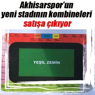 Akhisar'ın yeni stadının kombineleri satışa çıkıyor