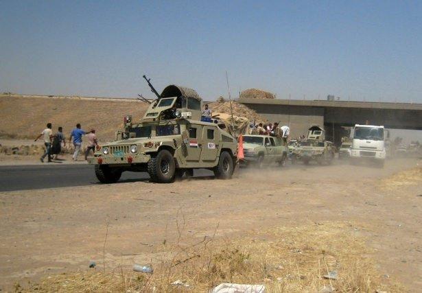 Irak'tan gelen ilk kanlı kareler!