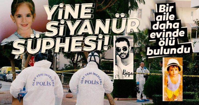 Antalya'daki siyanür ölümü hakkında valilikten açıklama geldi! İşte o açıklama!