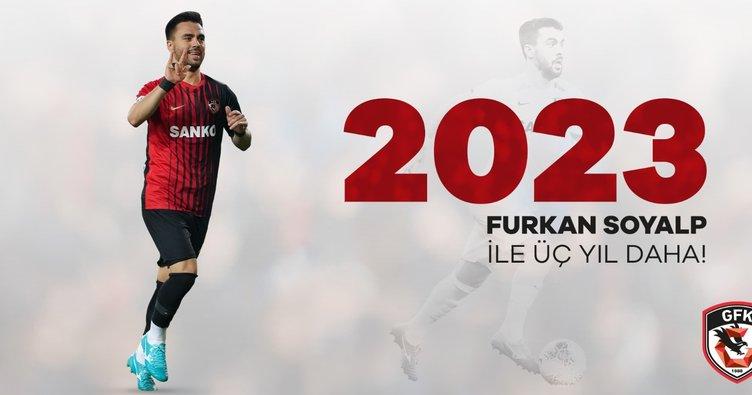 Furkan Soyalp'den Gaziantep FK'ya 3 yıllık imza