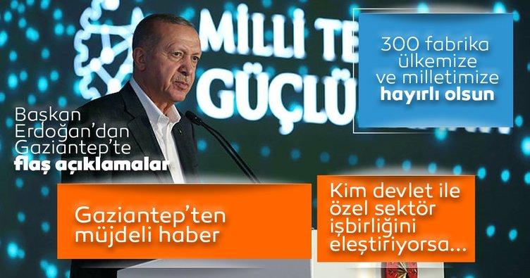 Son dakika: Başkan Erdoğan: Türk ekonomisi yeni rekorlara koşmaya devam edecektir