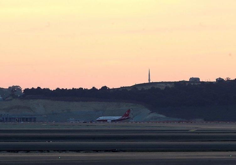 3. Havalimanı'nda tarihi gün