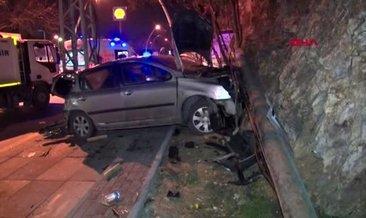 Ankara'da trafik kazaları: 5 yaralı