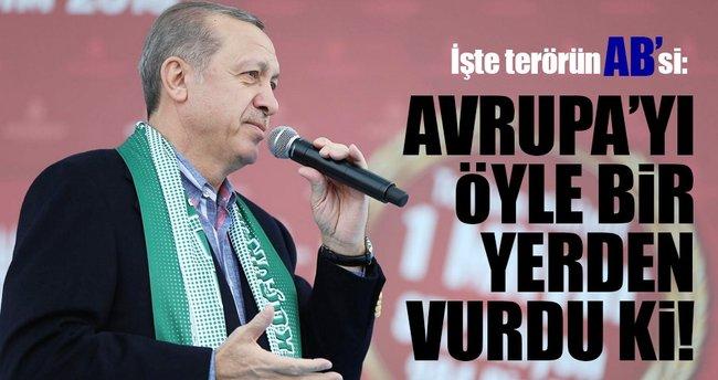 Cumhurbaşkanı Erdoğan: Siz kendinizi ciddiye almıyorsunuz ki ben alayım