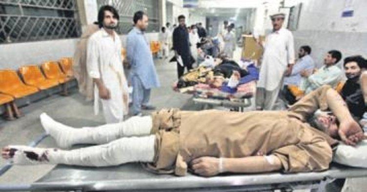 Pakistan'da ölü sayısı 81'e yükseldi