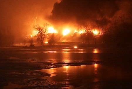 ABD'de tanker patlaması