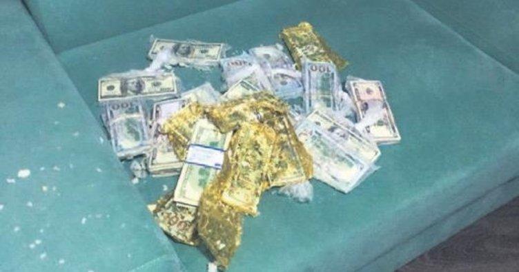 FETÖ paraları yastıktan çıktı