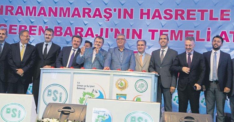 Kahramanmaraş'ta 16 yeni tesis sevinci
