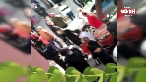 Mersin'de dehşet... Sokak ortasında arkadaşını öldürdü | Video