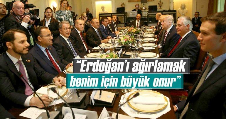 Erdoğan'ı ağırlamak benim için büyük onur